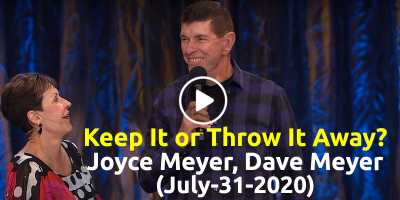 Keep It or Throw It Away? - Joyce Meyer, Dave Meyer (July-31-2020)