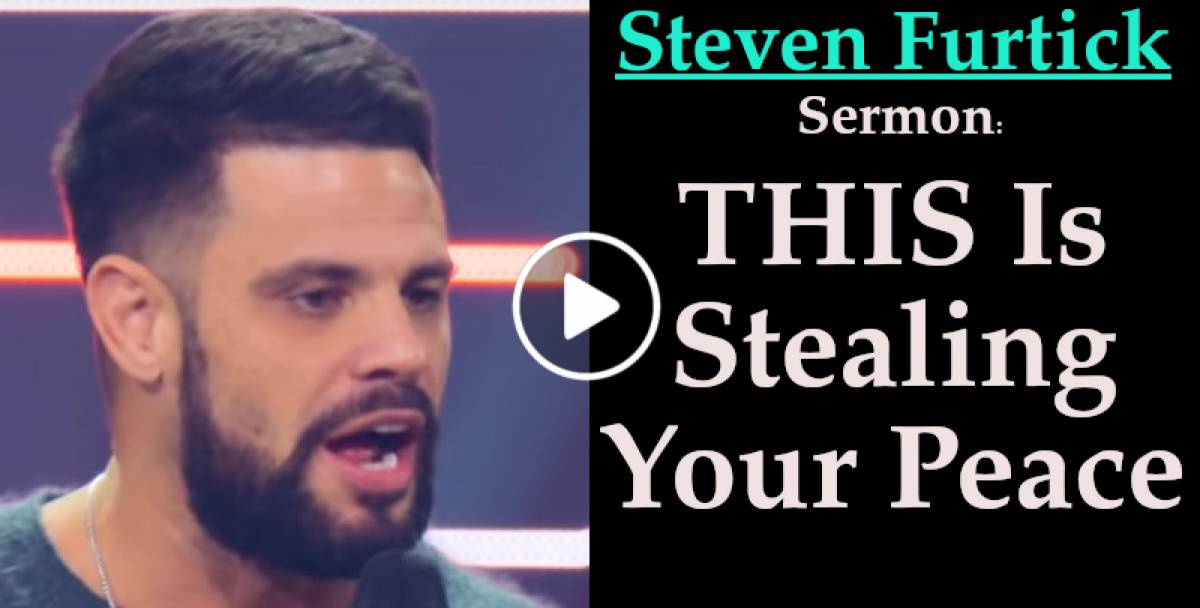 THIS Is Stealing Your Peace - Steven Furtick (January-22-2019)
