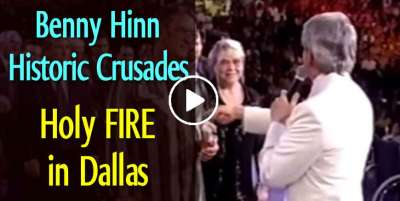 Benny Hinn Historic Crusades: Holy FIRE in Dallas (April-04-2020)