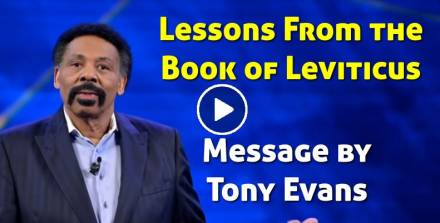 Lessons From the Book of Leviticus - Tony Evans (February-17-2021)