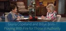 Praying With Fire for Those in Authority - Gloria Copeland
