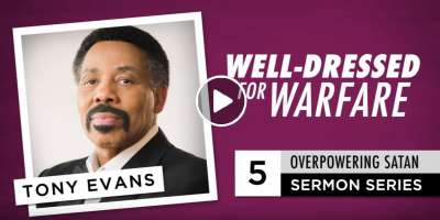 Well-Dressed for Warfare - Audio Sermon by Tony Evans (September-13-2019)