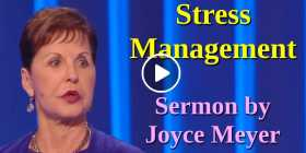 Stress Management - Joyce Meyer