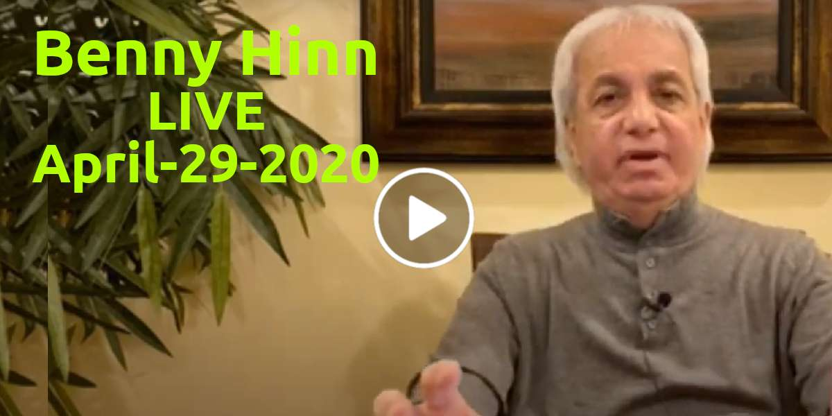 Receiving and Keeping a Healthy Mind! Part 3 - Benny Hinn (April-29-2020)