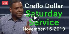Creflo Dollar Saturday Service November-16-2019 Live Stream