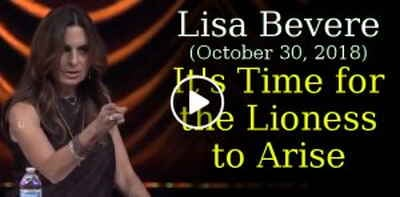 Lisa Bevere (October 30, 2018) - It's Time for the Lioness to Arise