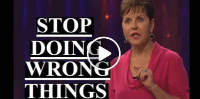 Joyce Meyer - Stop Doing Wrong Things (February-15-2019)