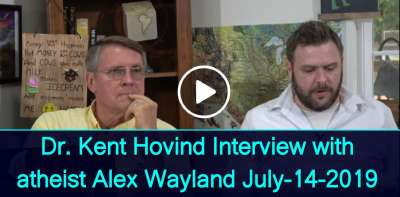 Dr. Kent Hovind Interview with atheist Alex Wayland (July-14-2019)