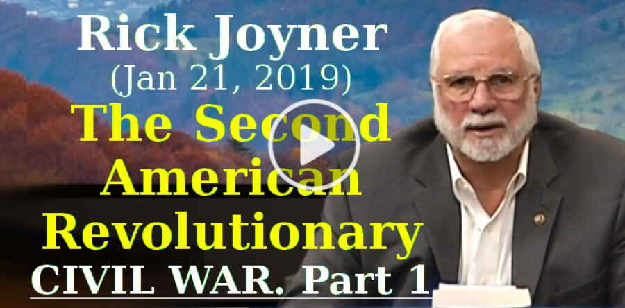 Rick Joyner (January 21, 2019) - The Second American Revolutionary/Civil War. Part 1