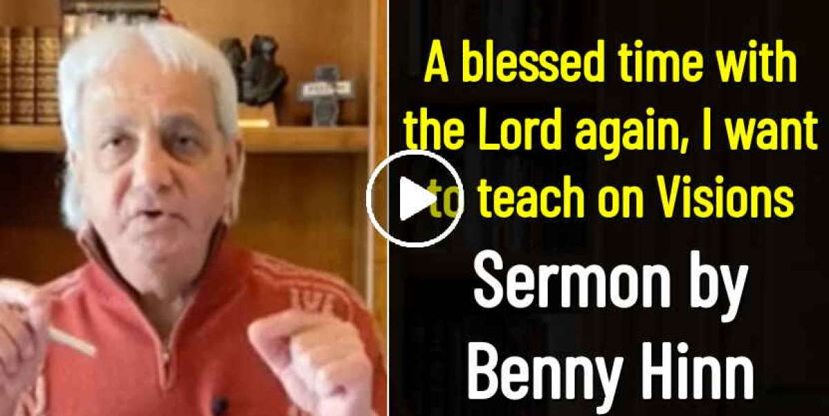 A blessed time with the Lord again, I want to teach on Visions - Benny Hinn (April-14-2020)