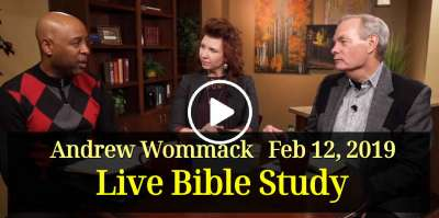 Andrew Wommack Live Bible Study - February 12, 2019