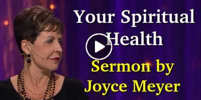 Joyce Meyer - Your Spiritual Health