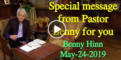 Special message from Pastor Benny for you (May-24-2019)