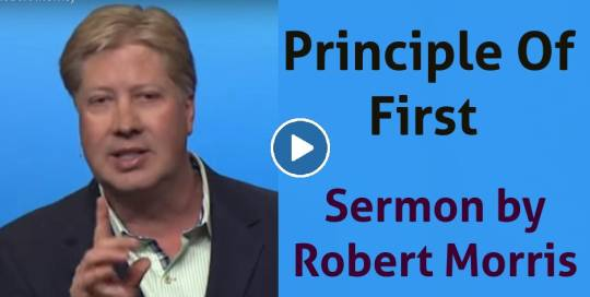 Michael Todd Ministries - Sunday Sermon April-08-2019 - Principle Of First // Ducks In A Row (Part 4) (Robert Morris)