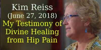 Kenneth Copeland Ministries, Kim Reiss (June 27, 2018) - My Testimony of Divine Healing from Hip Pain