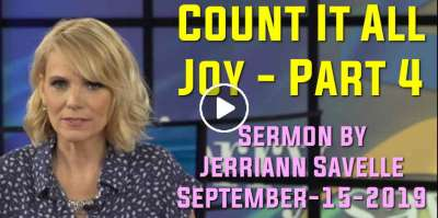 Count It All Joy - Part 4 - Jerriann Savelle  (September-15-2019)