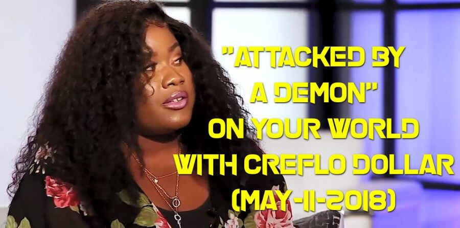 """Attacked by a Demon"" on Your World with Creflo Dollar (May-11-2018)"