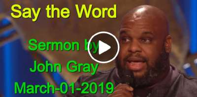 John Gray - Say the Word (March-01-2019)