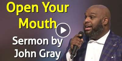 Open Your Mouth - John Gray (January-08-2020)