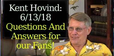 Kent Hovind: 6/13/18 - Questions And Answers for our Fans!