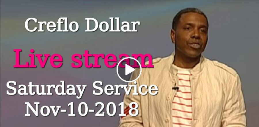 Creflo Dollar Ministries, Saturday Service (November-10-2018) Live stream: Emotions - Friends of Foe (Part 3)