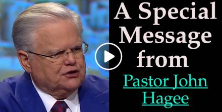 A Special Message from Pastor John Hagee (December-12-2017)