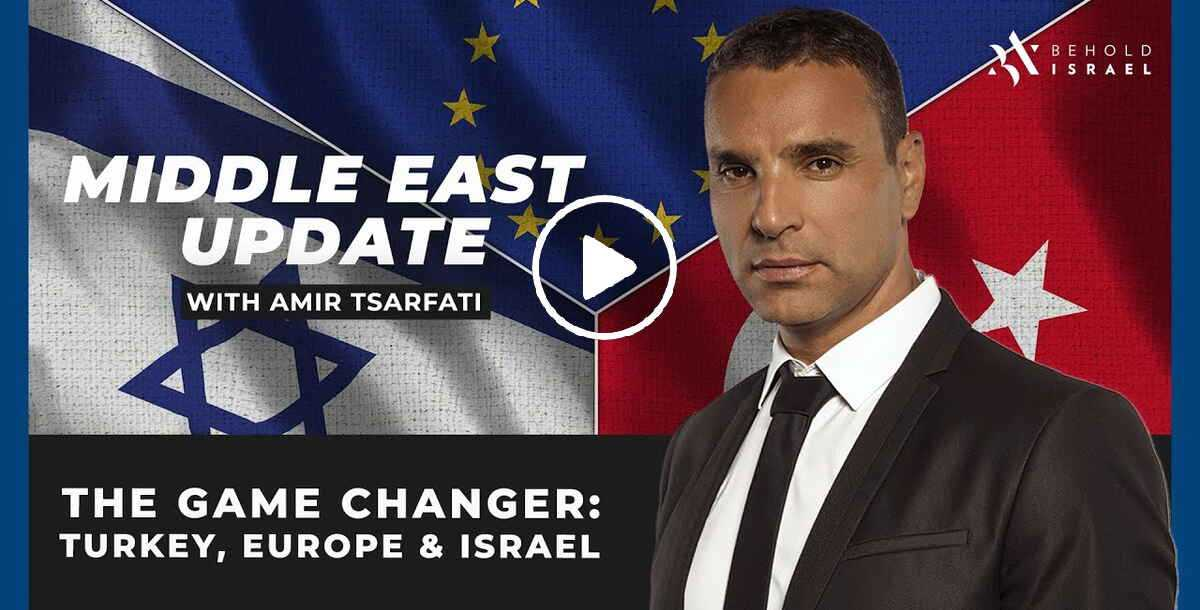 Amir Tsarfati - Middle East Update: The Game Changer: Turkey, Europe, and Israel (November-02-2020)