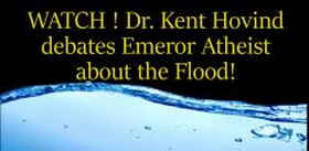 Dr. Kent Hovind debates Emeror Atheist about the Flood! 10 Feb. 2018