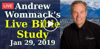 Andrew Wommack's Live Bible Study - January 29, 2019