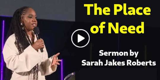 The Place of Need - Sarah Jakes Roberts (September-14-2020)