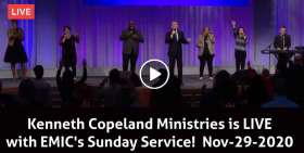 Kenneth Copeland Ministries is LIVE with EMIC's Sunday Service! (November-29-2020)