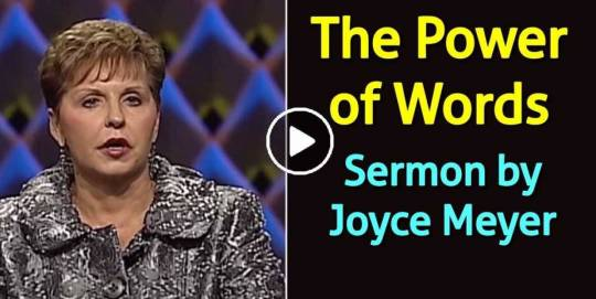 Joyce Meyer - The Power of Words