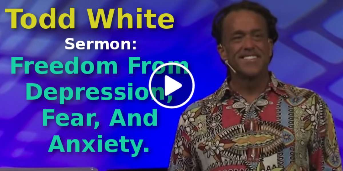 Todd White (October-29-2019) Sermon:Freedom From ...