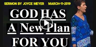 Joyce Meyer - God Has A New Plan For You (March-11-2019)