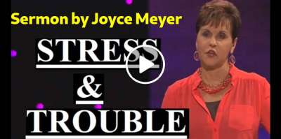 Joyce Meyer - Stress and Trouble (March-16-2019)