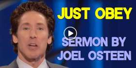 Joel Osteen - Just Obey