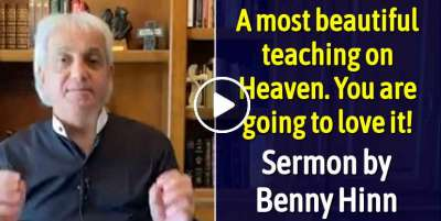 A most beautiful teaching on Heaven. You are going to love it! - Benny Hinn (May-11-2020)