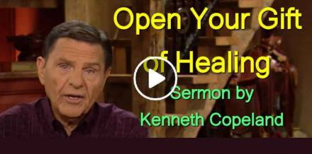 Open Your Gift of Healing - Kenneth Copeland (May-15-2019)