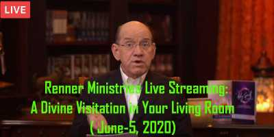 A Divine Visitation in Your Living Room|  Renner Ministries Live Streaming ( June-5, 2020)