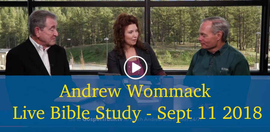 Andrew Wommack Live Bible Study - Sept 11 2018