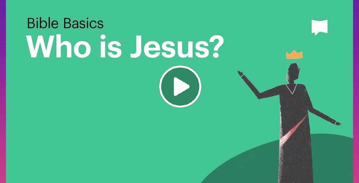 Who is Jesus? - The Bible Project (October-29-2020)
