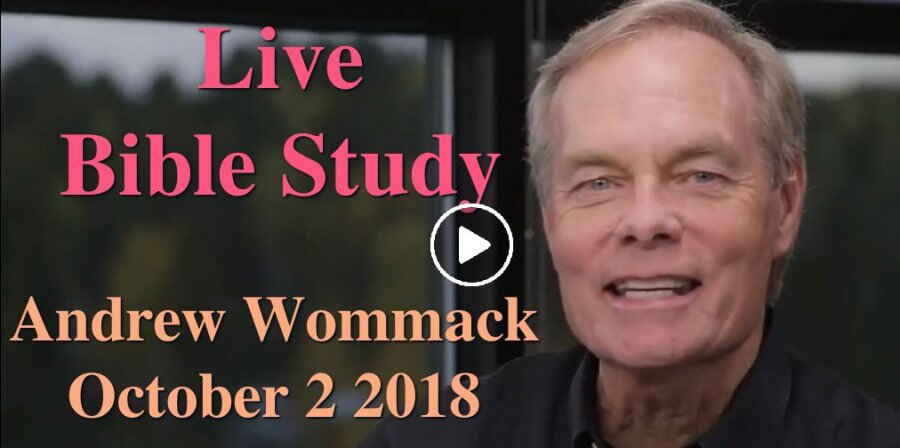 Andrew Wommack - Live Bible Study - October 2 2018