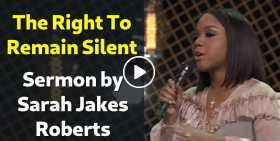 The Right To Remain Silent - Sarah Jakes Roberts (October-29-2020)