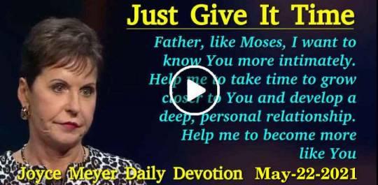 Daily Devotion by Joyce Meyer 2019 Ministries | Everyday