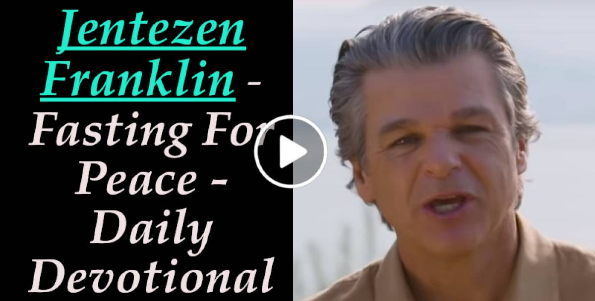 Fasting For Peace - Daily Devotional - Jentezen Franklin (January-18-2019)