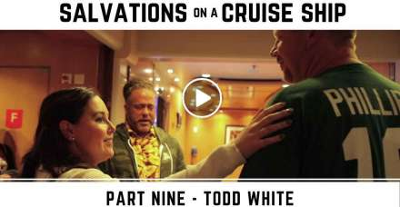 Todd White - Salvations on a Cruise Ship (December-24-2020)