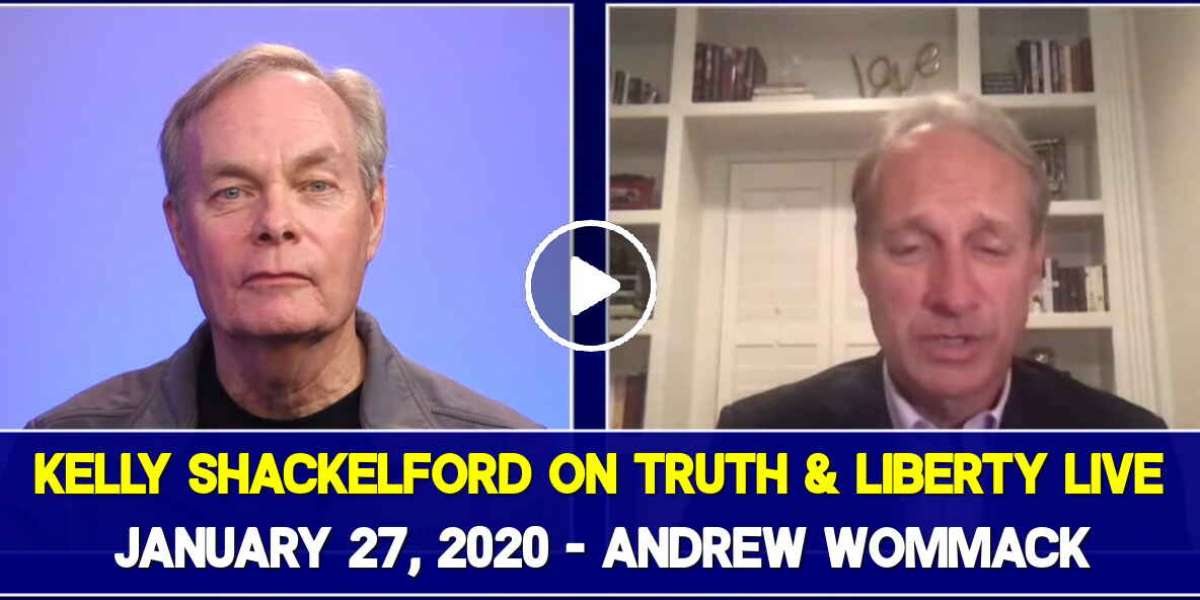 Kelly Shackelford on Truth & Liberty Live - January 27, 2020 - Andrew Wommack