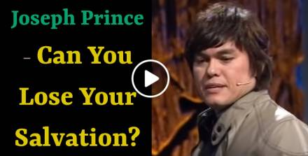 Joseph Prince (15 Apr 2012)- Can You Lose Your Salvation?