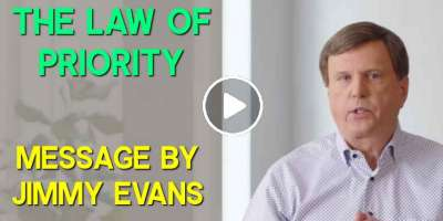 The Law of Priority - Jimmy Evans (January-29-2020)