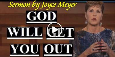 Joyce Meyer - God Will Get You Out (March-29-2019)